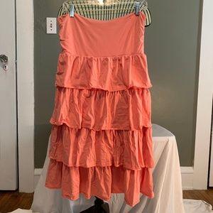 Jcrew Strapless Casual Dress